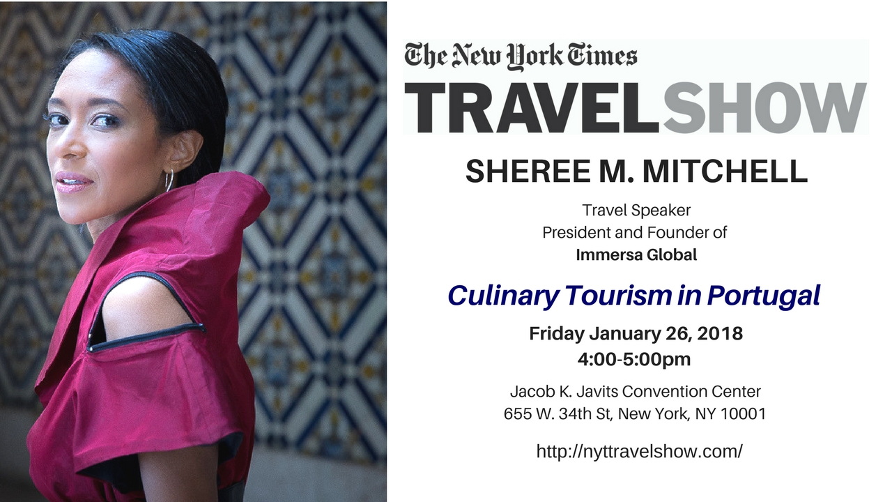 """New York Times Travel Show 2018 """"Culinary Tourism in Portugal"""""""