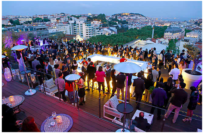 Photo courtesy of Lisboa Sky Bar-  Immersa Global/ Sheree M. Mitchell Lisbon Food Recommendations
