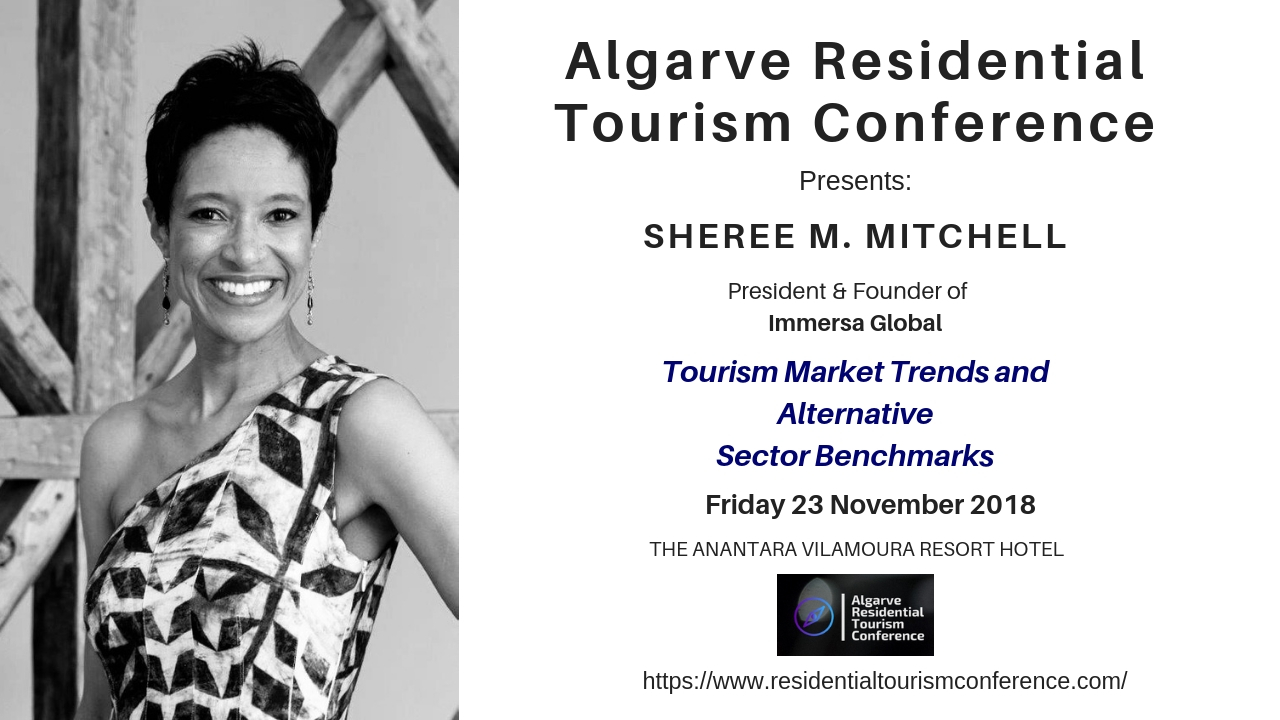Sheree M. Mitchell  will be participating in the Algarve Residential Tourism Conference in Portugal. November 23rd, 2018.