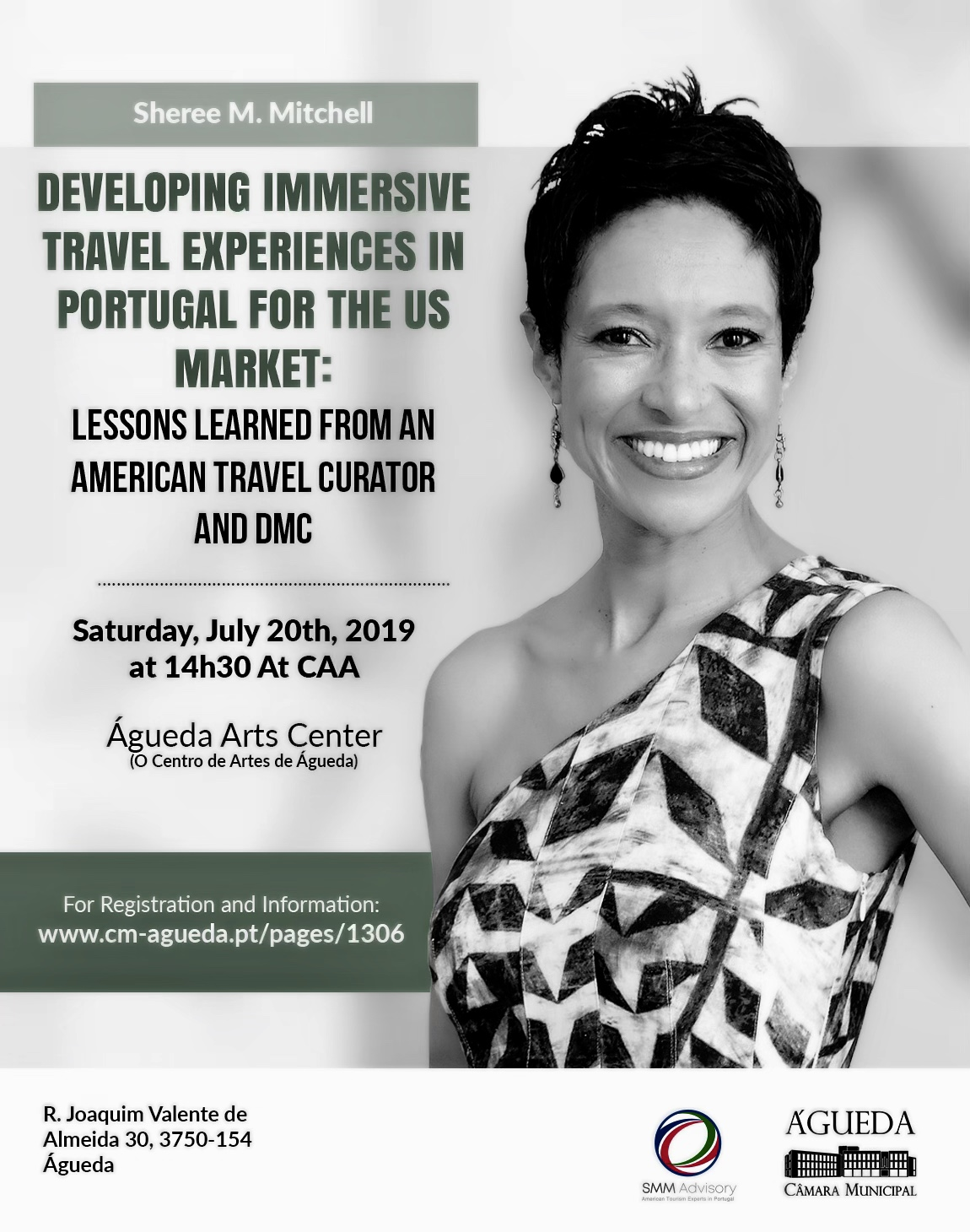 Sheree M. Mitchell to speak about her experiences creating travel programs in Agueda, Portugal