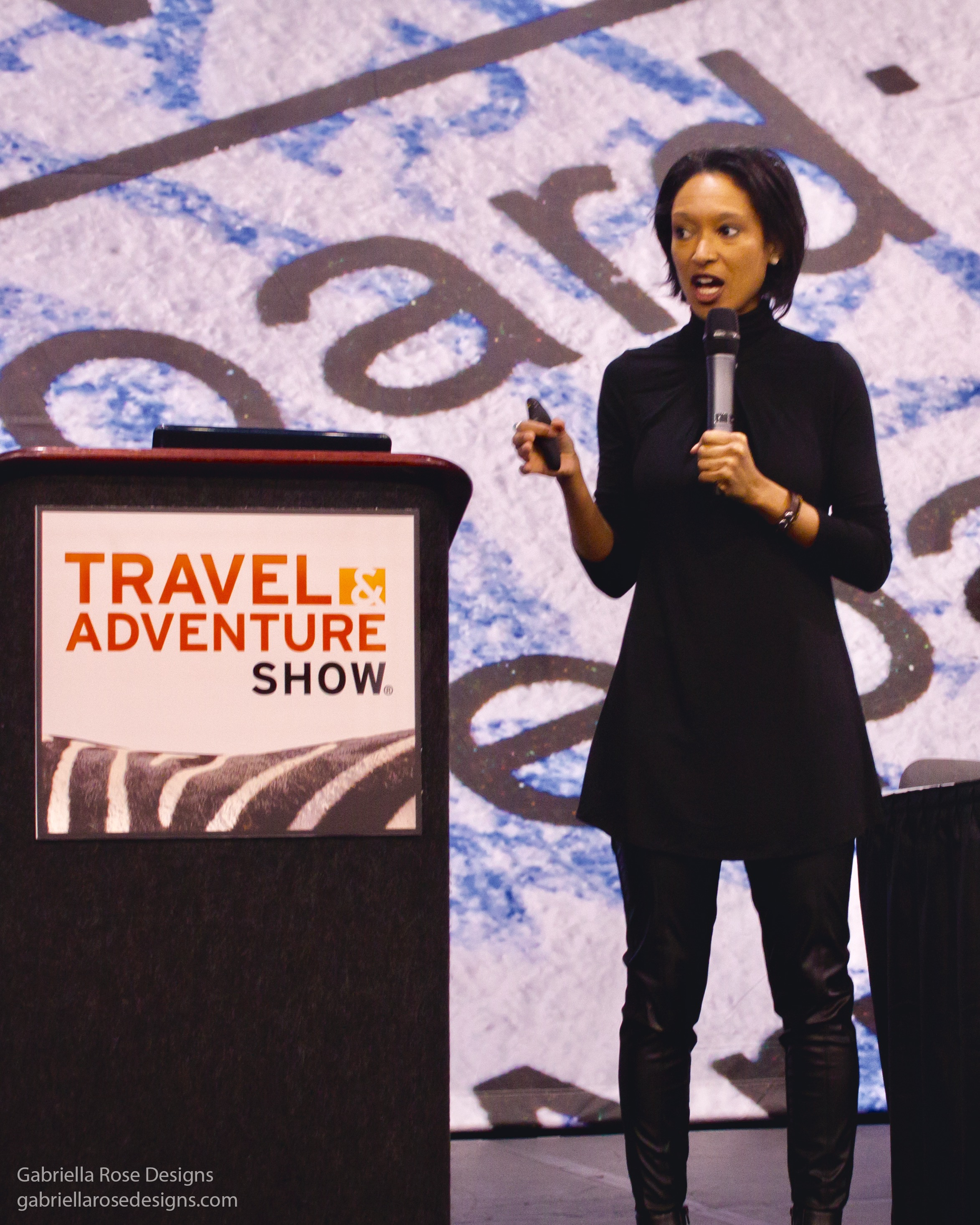 Speaking at the Travel & Adventure Show