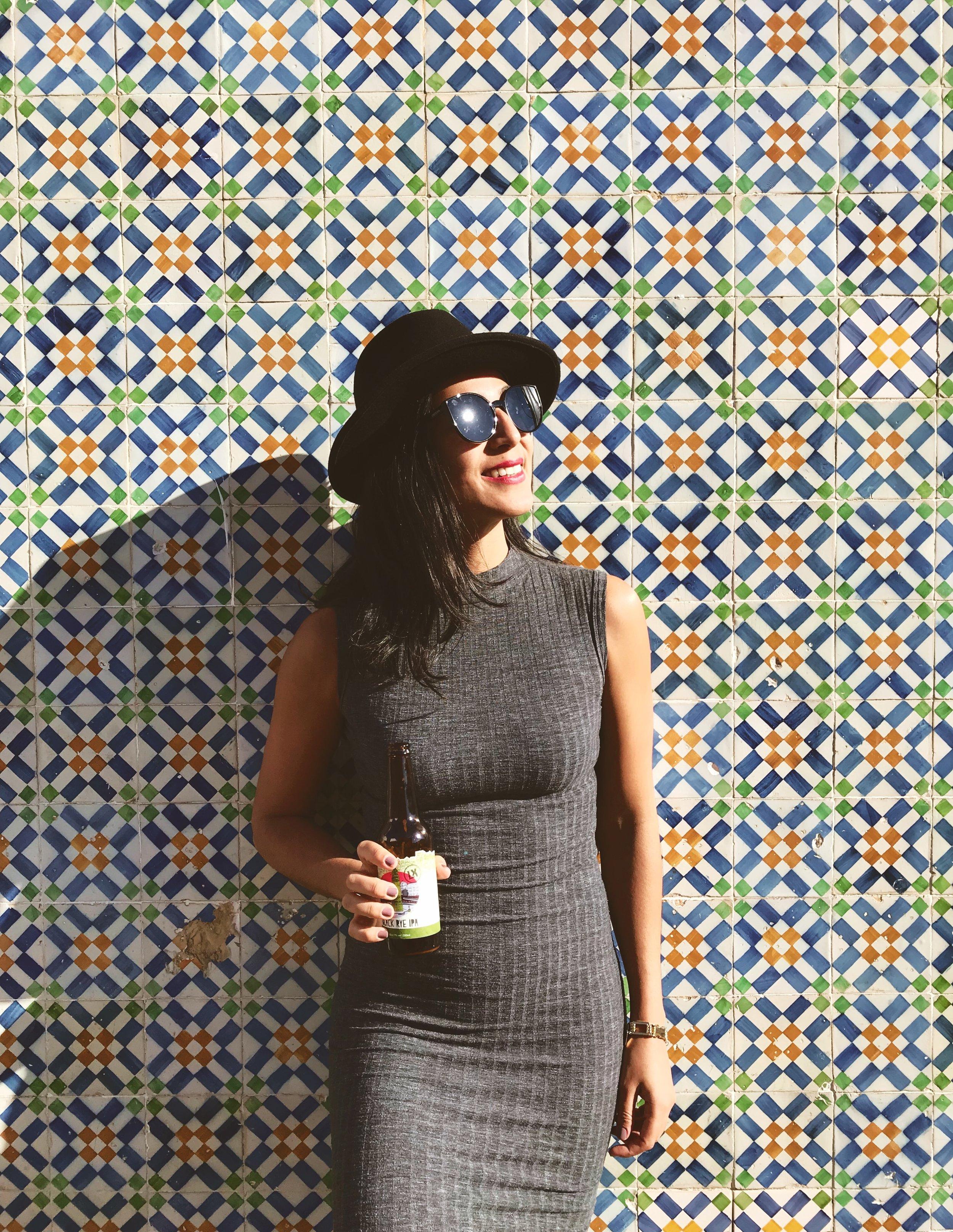 woman in Belem_Lisbon_azulejos_Portugal.jpg