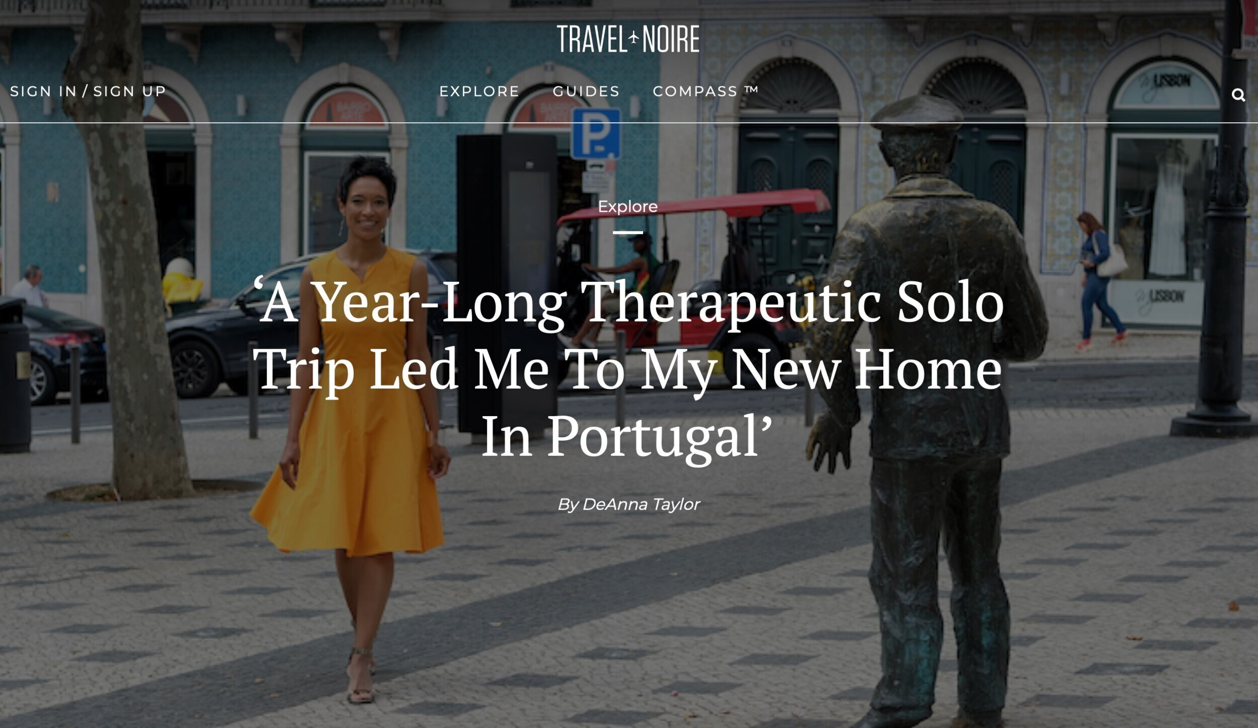 Travel Noire's DeAnne Taylor interviews Sheree M. Mitchell on her boutique travel company and life as a POC expat in Portugal.