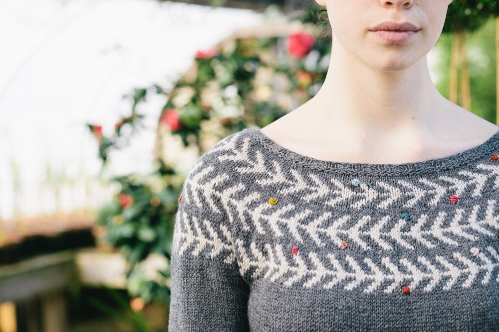 Branches & Buds Pullover