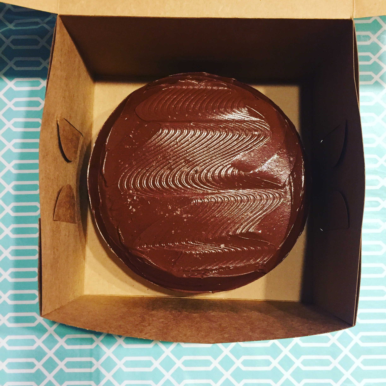 CHOCOLATE-CARAMEL LAYER CAKE