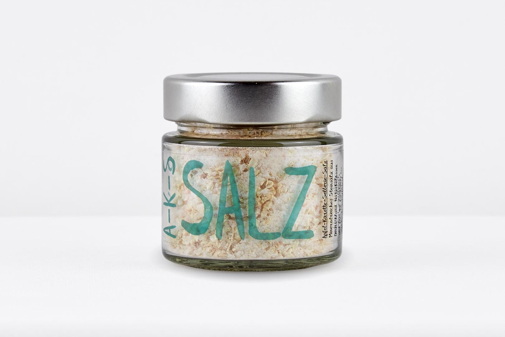 Apfel - Karotte - Sellerie - Salz 120g