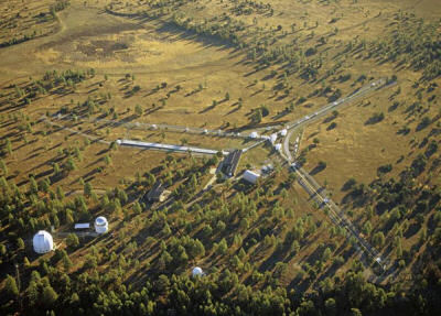 The NPOI is the Y-shaped facility at upper right. Lowell's 1.8-meter, 1.1-meter, and 0.6-meter telescopes are visible at lower left. Info & Image Credit:  Lowell