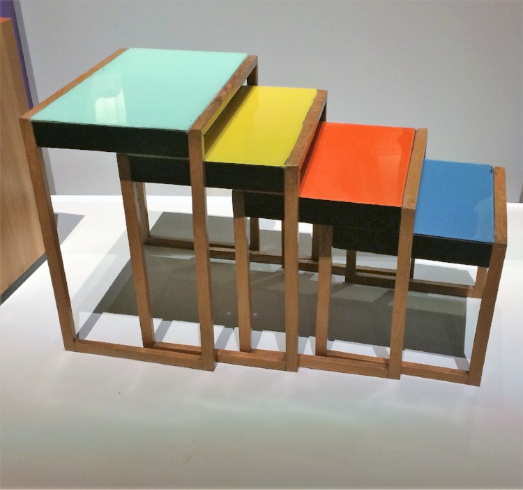 Josef Albers Nesting Tables 1926/27