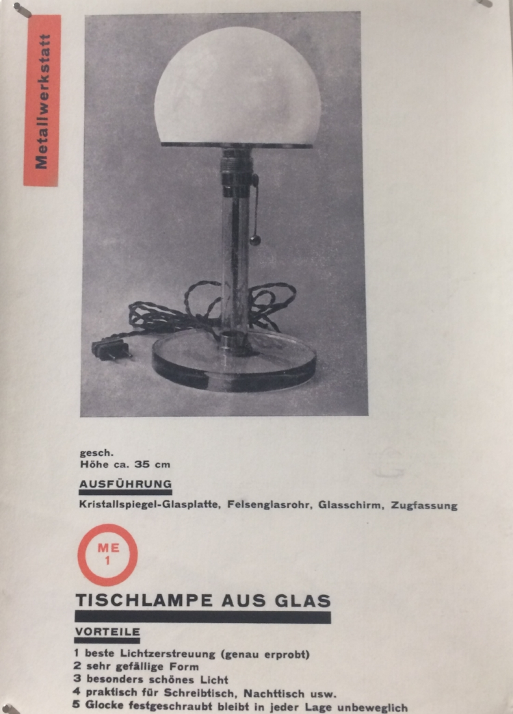 The Bauhaus Catalogue 1925- laying the foundations for IKEA...