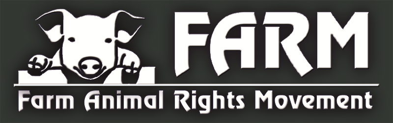 Farm Animal Rights Movement (FARM) is a 501(c)(3) national nonprofit organization working to end the use of animals for food through public education and grassroots activism.