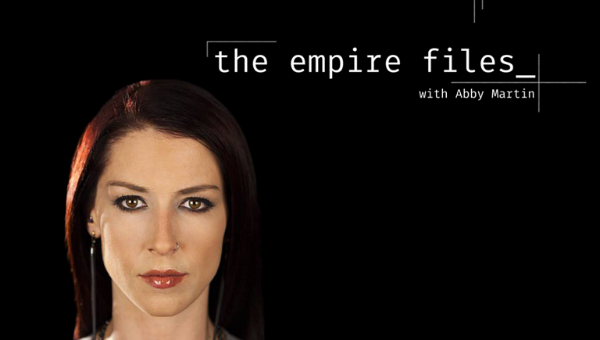 A documentary & interview series hosted by Abby Martin - reporting on war & inequality from the heart of the Empire // New episode every week on teleSUR