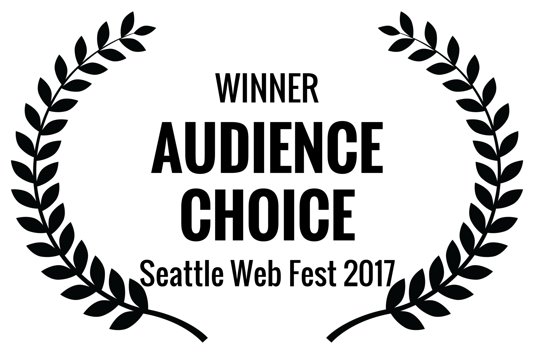 WINNER - AUDIENCE CHOICE - Seattle Web Fest 2017.png