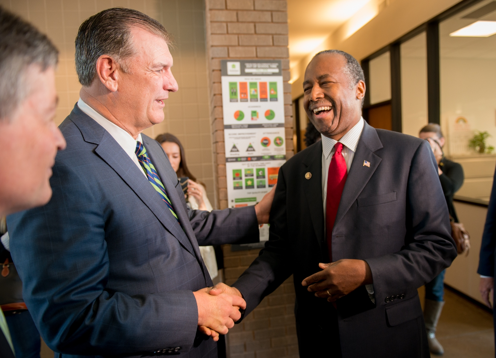 Congressman Jeb Hensarling, Mayor Mike Rawlings, and HUD Secretary Dr. Ben Carson visit Jubilee to learn more about best practices in urban development (3/31/2017)