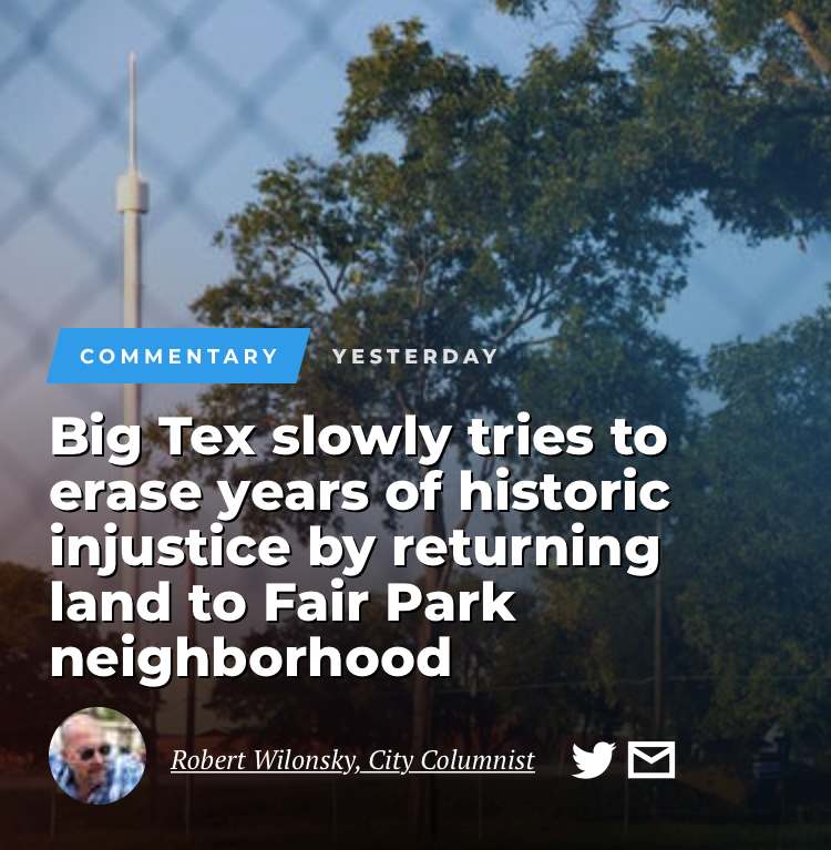 Dallas Morning News reports on Jubilee's role as a catalyst for community-owned revitalization.