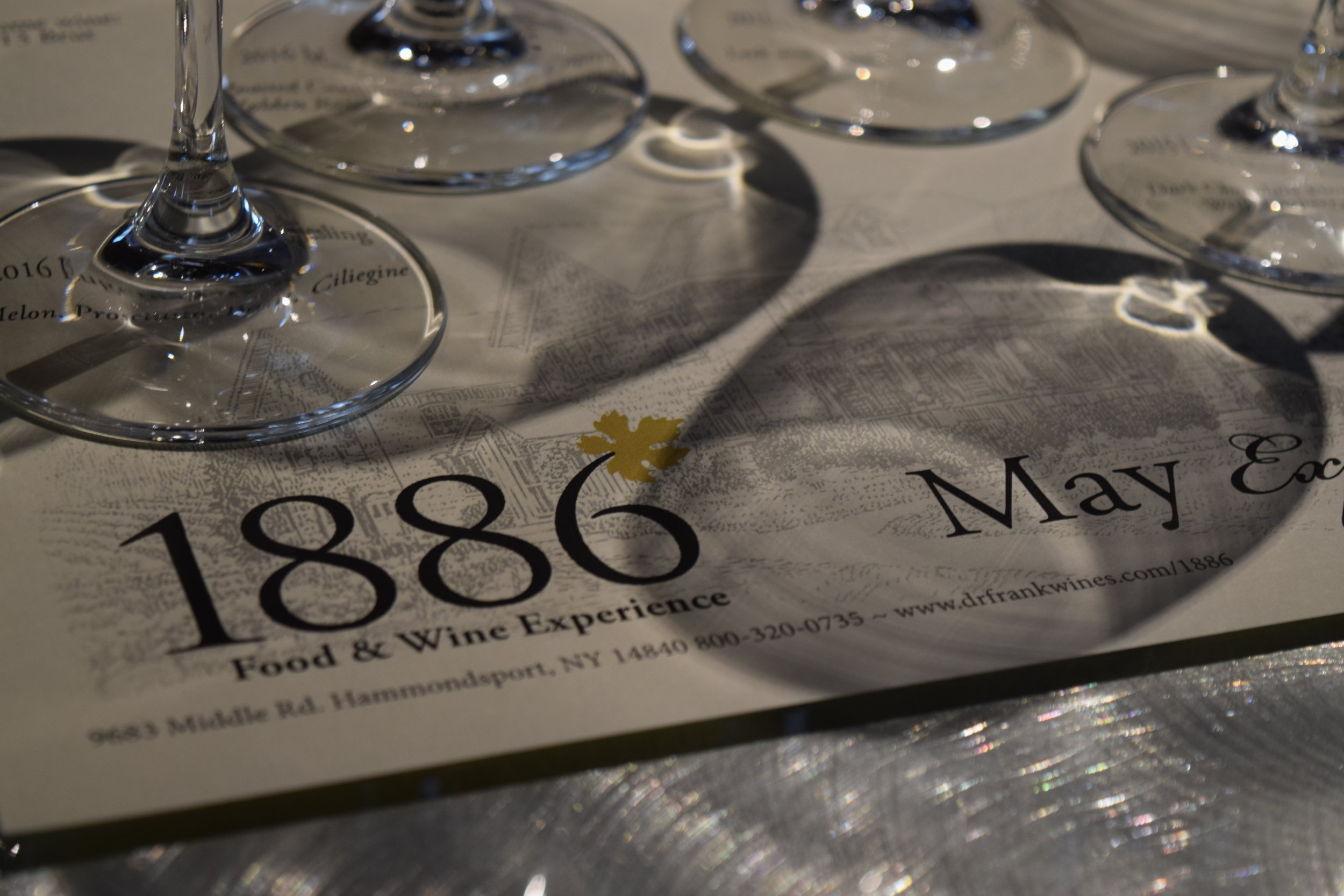 Dr. Konstantin Frank Winery's 1886 Food & Wine Experience: May 2018's Terroir Experience