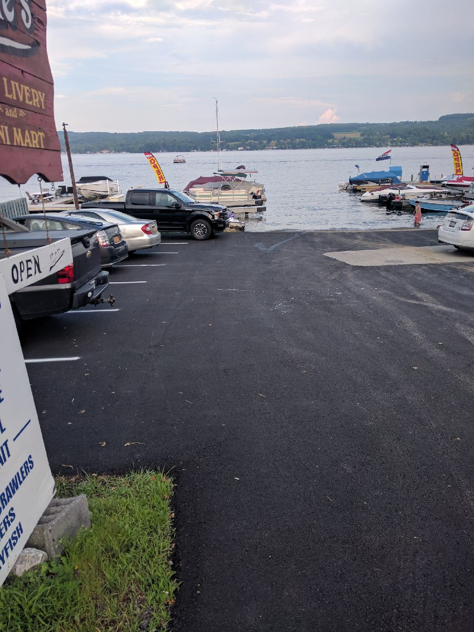 The boat launch at Jake's Livery. Details in above press release.