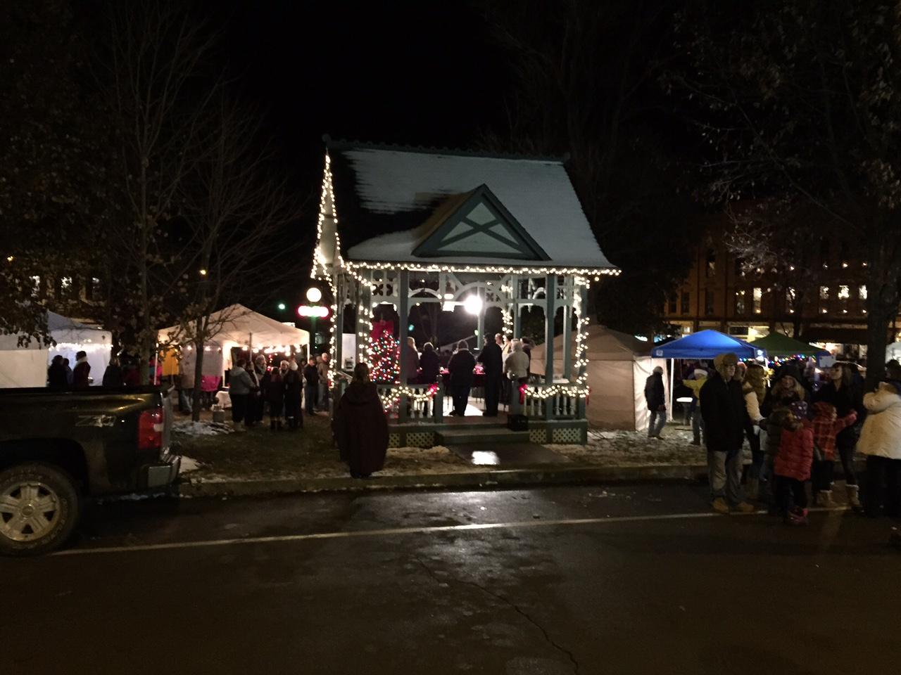 Christmas In The Park.Christmas In The Park Hammondsport Chamber Of Commerce