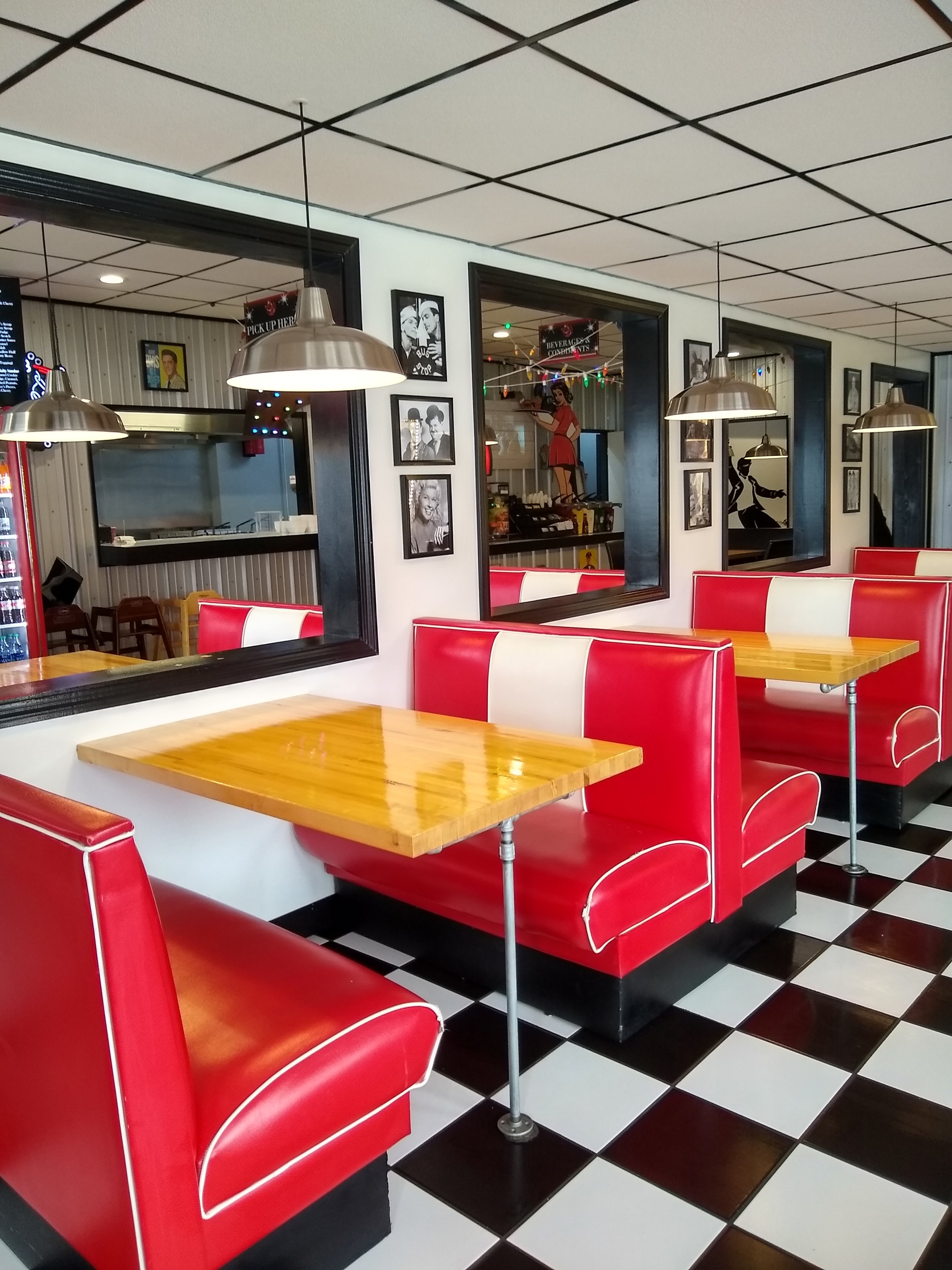 Maybe Baby Burgers, a 1950s inspired family friendly diner!