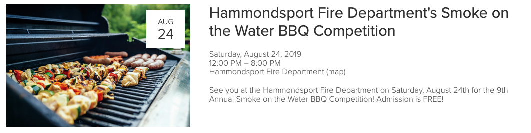 Planning a getaway to Hammondsport later this year? Check out the calendar to see what events have been announced this for summer and beyond! The calendar is updated DAILY with new events!