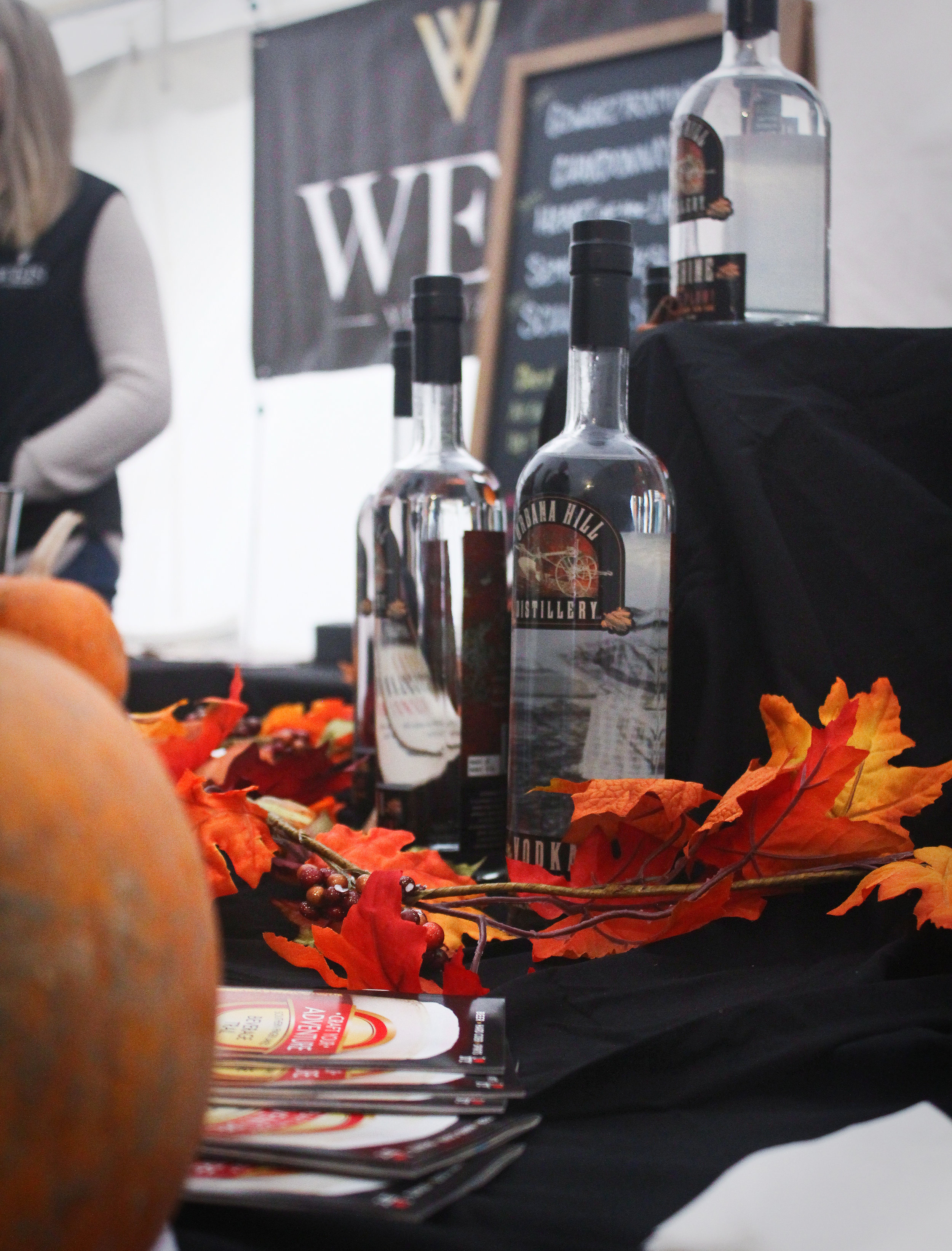Bushels and Barrels features a wide variety of alcohol vendors for your tasting pleasure!