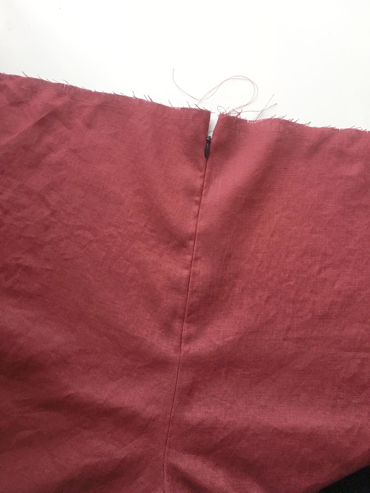 Back Zipper