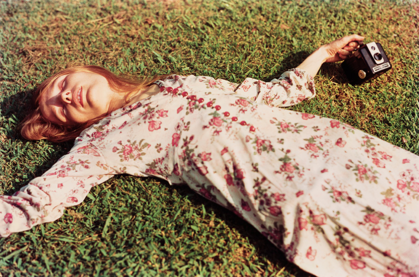 Untitled, c.1975 (Marcia Hare in Memphis, Tennessee) by William Eggleston
