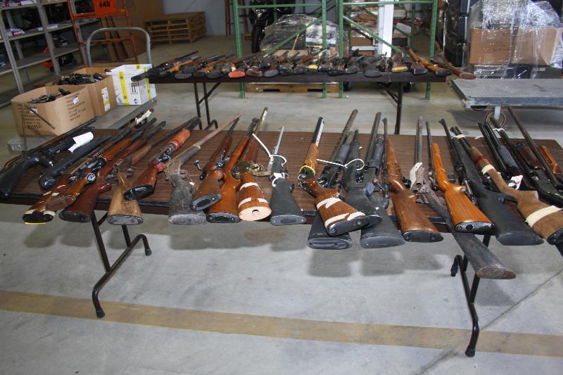 ITAR Weapons Destruction