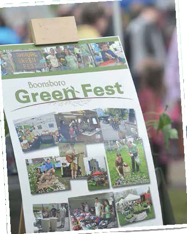 A GreenFest Banner