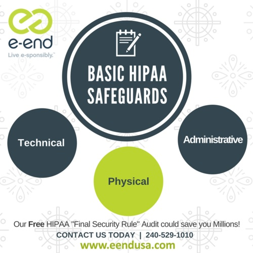 "e-End is offering a FREE onsite HIPAA ""Final Security Rule"" Audit. Click the image for more details."