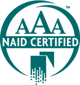 e-End is  NAID AAA  certified for degaussing and shredding all non-paper electronic media