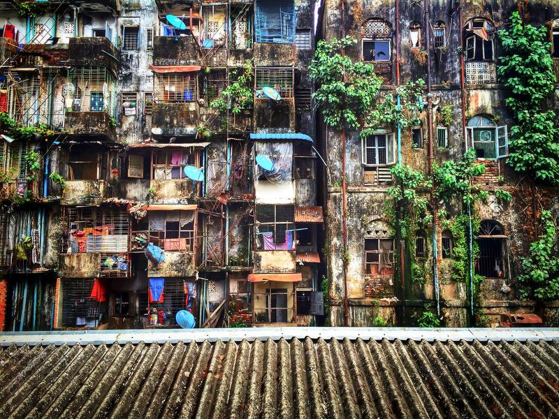 Myanmar backyard