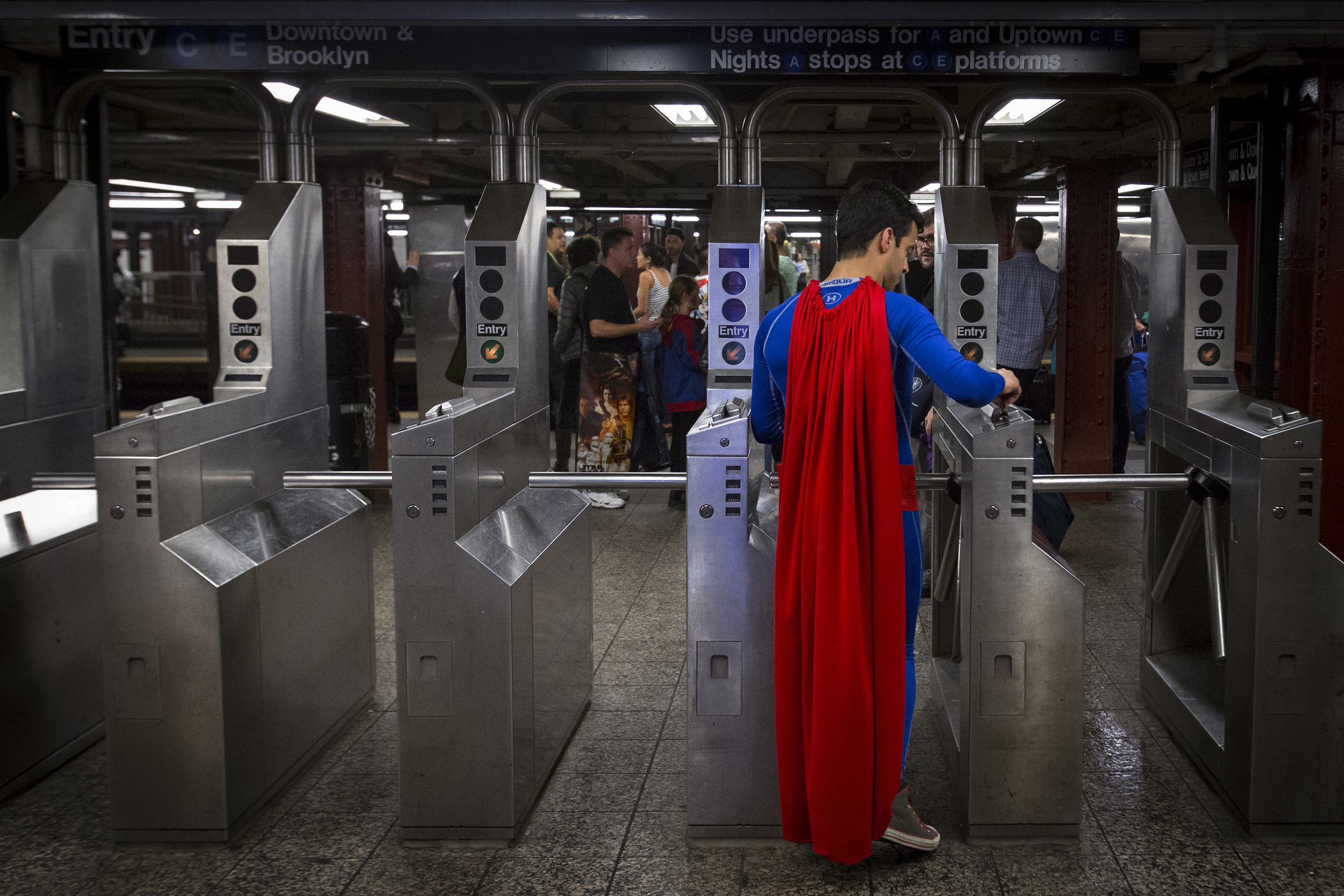 Caped Commuter.