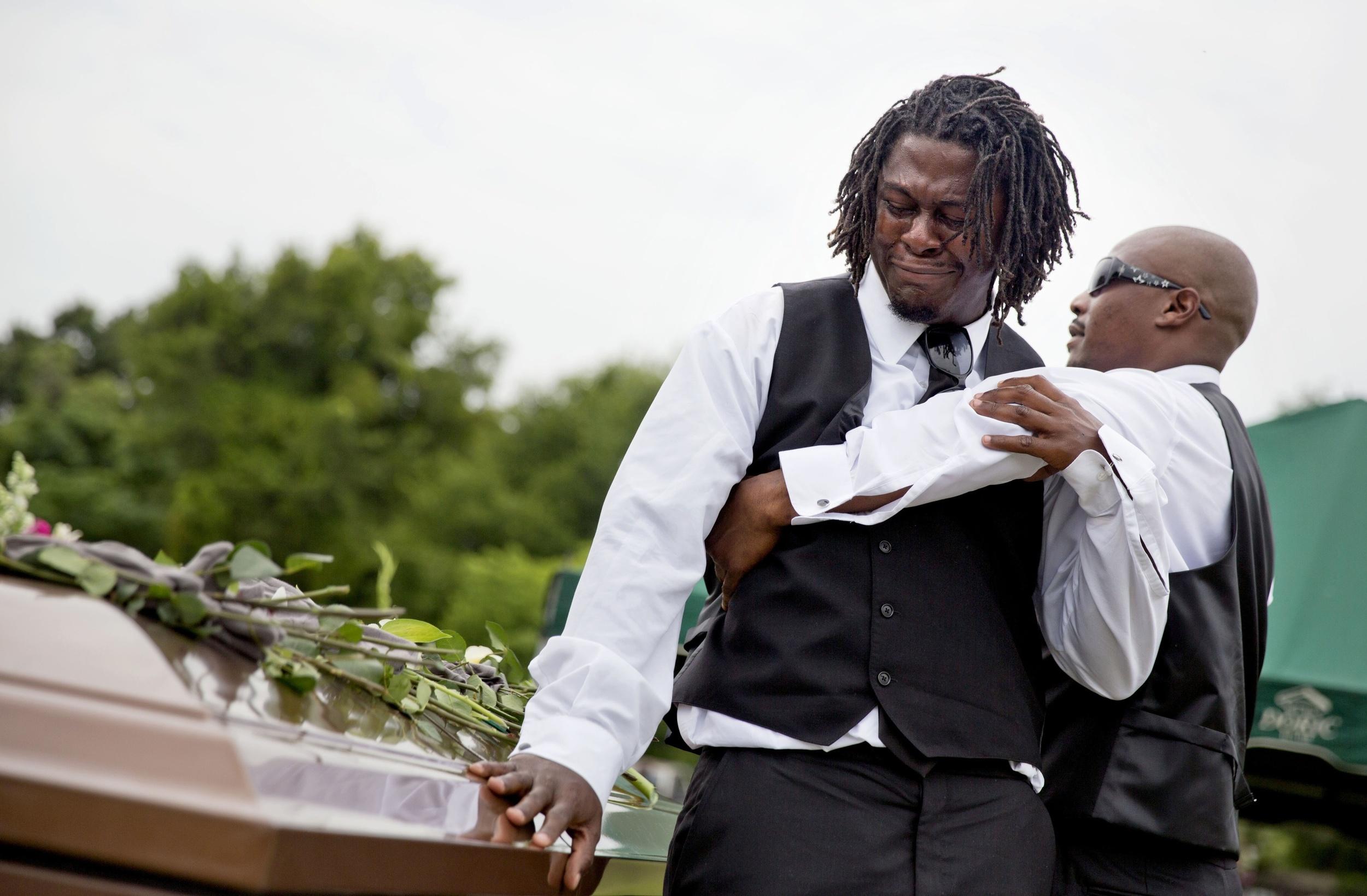 Grandson's Goodbye to Charleston Shooting Victim