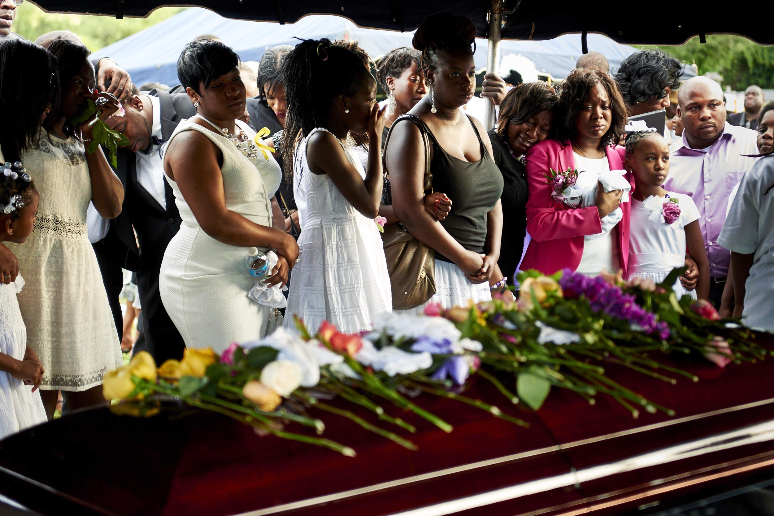 Funeral of Tywanza Sanders & Susie Jackson