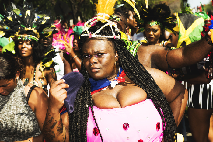 A masquerader dance at West Indian Day Parade on Monday September 7, 2015.9/7/2015Brooklyn
