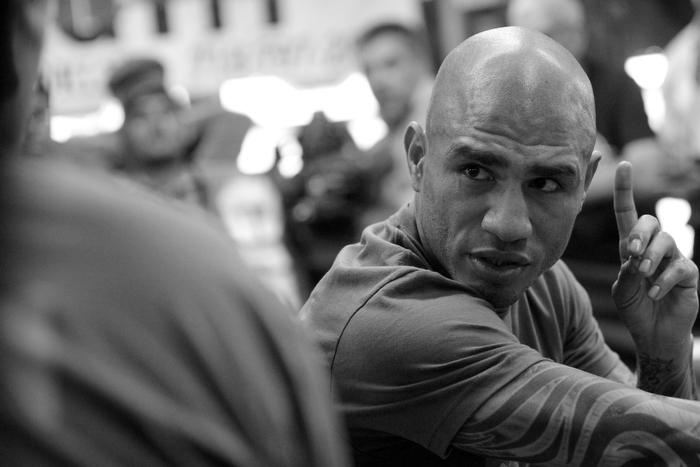 """""""Boricua Boxer Miguel Cotto training in Brooklyn"""""""