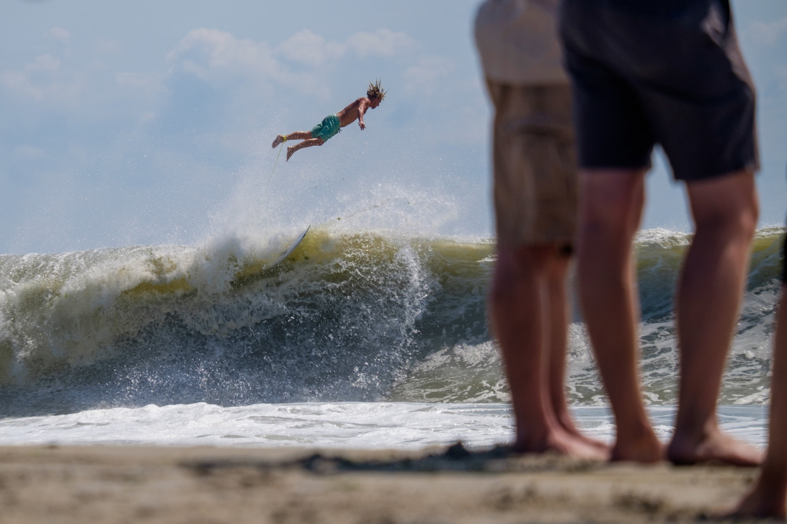 Exhibit AwardGabriella Bass/IndependentUNTITLEDSurfers take advantage of large waves at Rockaway Beach, New York, due to an incoming storm on September 10, 2016.
