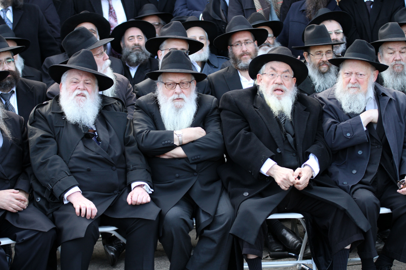 Second PlaceBruce Cotler/FreelanceOY!Rabbis are seen among a sea of black hats as they pose for a group shot in front of Chabad- Lubavitch world headquarters in Brookyln, New York, November 27, 2016. They are among the 4,550 rabbis from around the world who are in New York for the international conference of Chabad - Lubavitch Emissaries, an annual event aim at reviving jewish awareness and practice around the world.