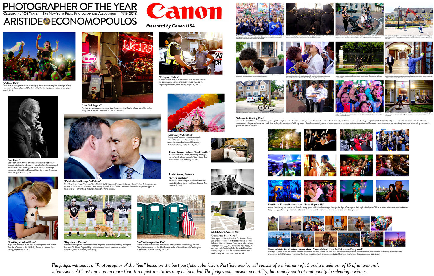 2017 Year in Pictures — New York Press Photographers Association, Inc