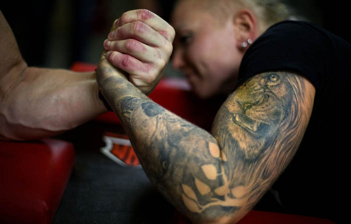 Arm Wrestling Over the Top