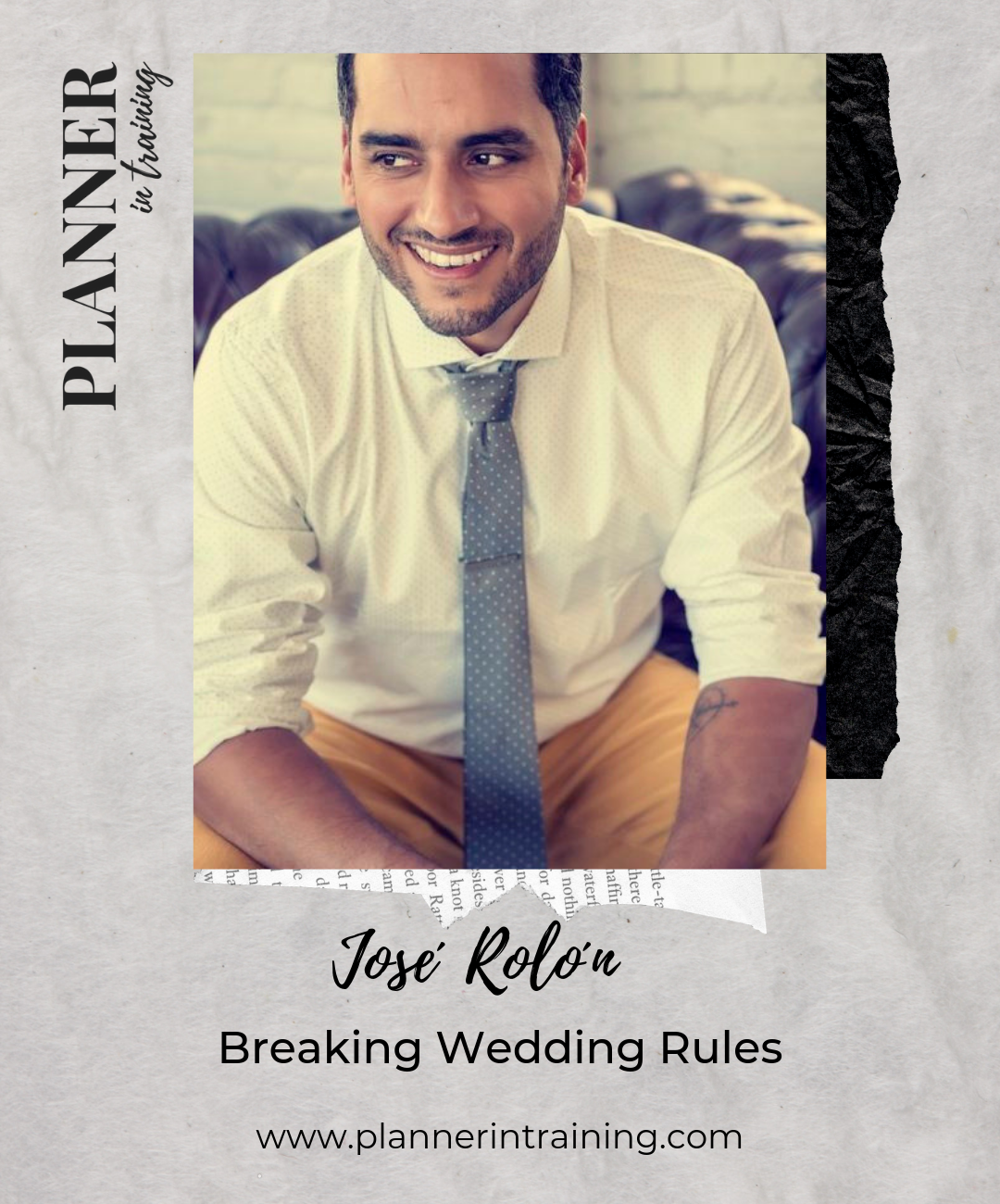 jose rolon wedding planner classes wisconsin