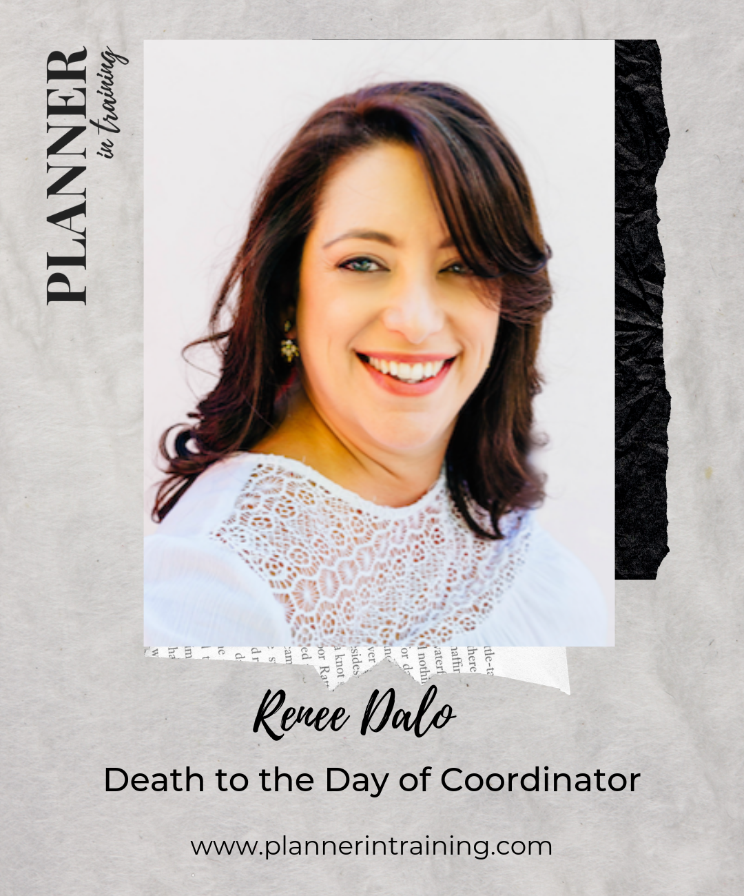 Renee Dalo planner in training podcast