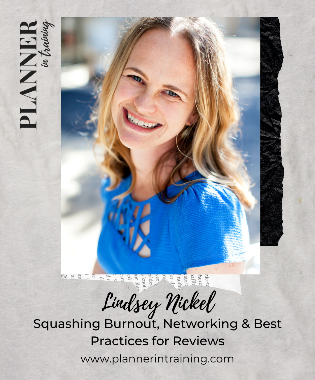 LINDSEY NICKEL - LOVELY DAY STRATEGY- PLANNER IN TRAININGPODCAST - WEDDING PLANNER EDUCATION