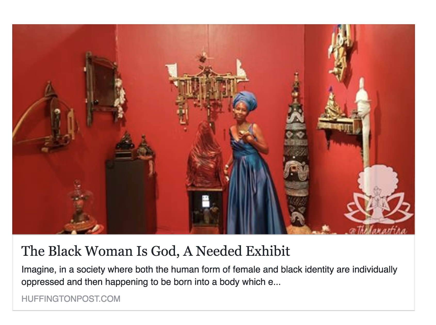 The Black Woman Is God, A Needed Exhibit