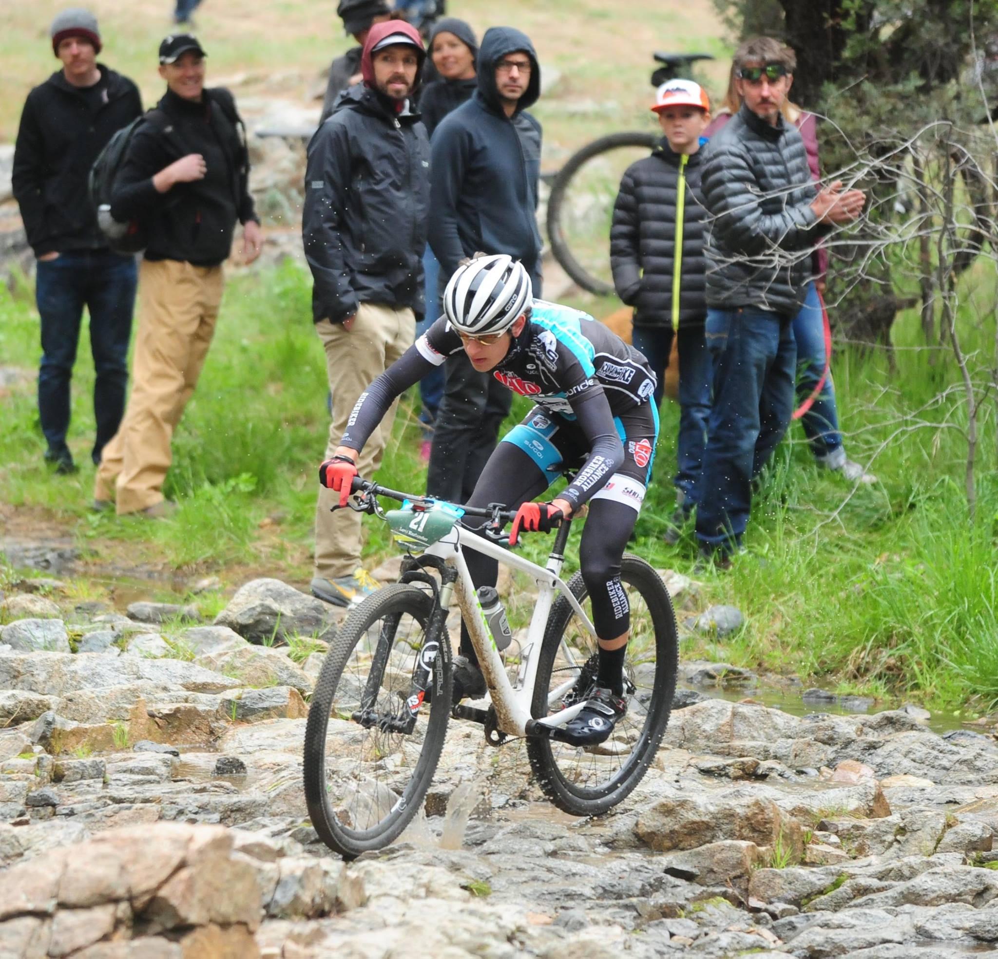 If mountain bike racing was easy, everyone would do it! Photo:  Les Stukenberg