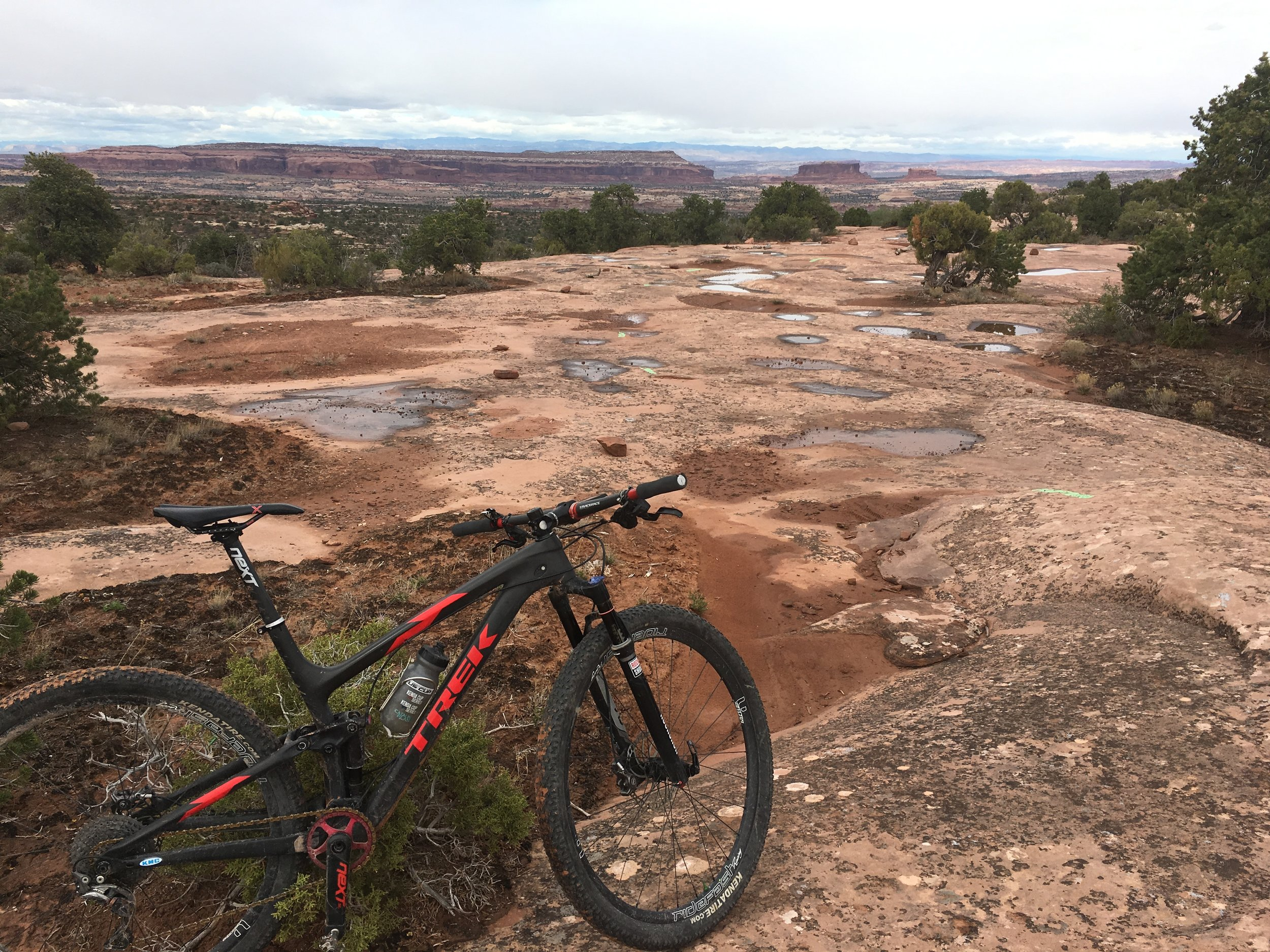 Moab was drier