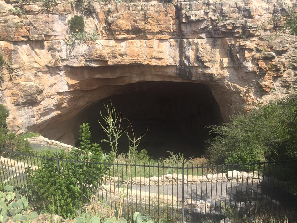 Natural Entrance into the Cavern