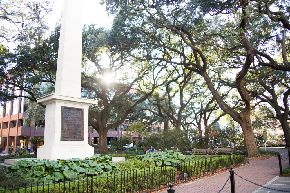 A Public Square in Savannah