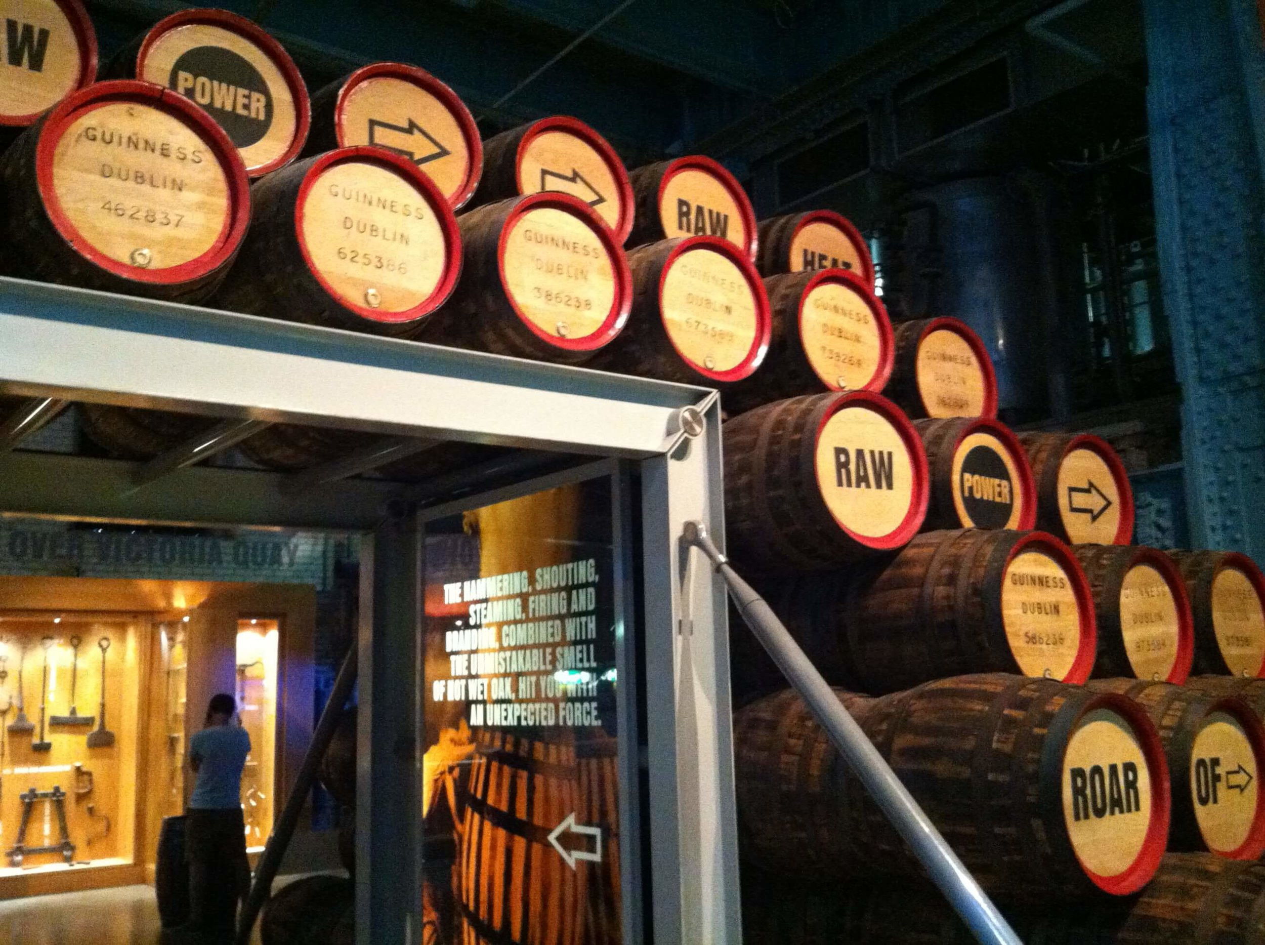 Guinness Brewery Storehouse Tour in Dublin, Ireland