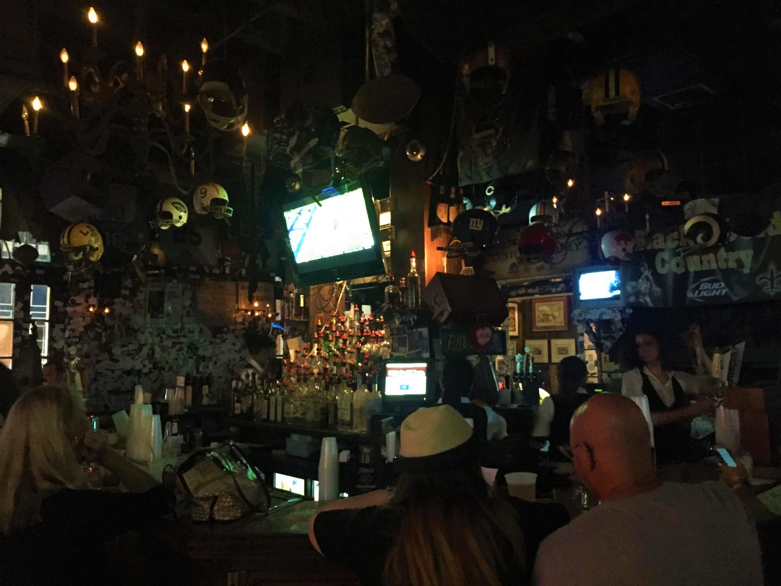 The Old Absinthe House on Bourbon Street